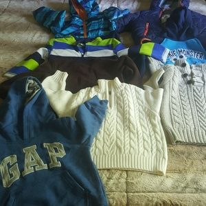2t winter fall bundle boy
